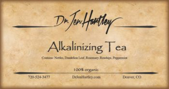 Alkalinizing Tea