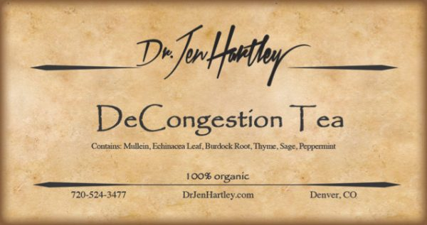 DeCongestion Tea