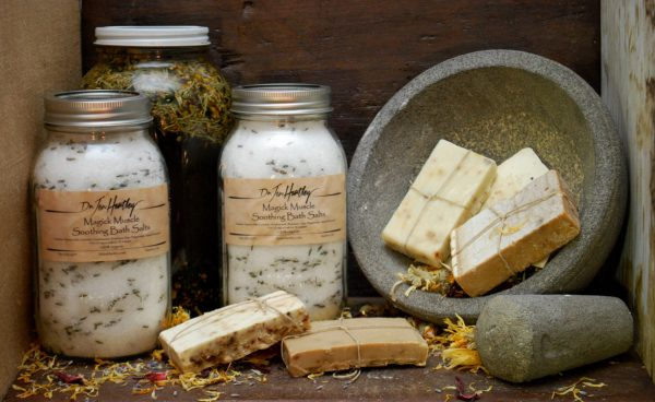Magick Muscle Soothing Bath Salts
